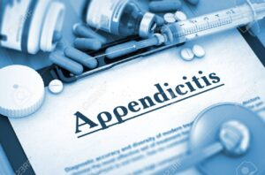 What is the main cause of appendicitis