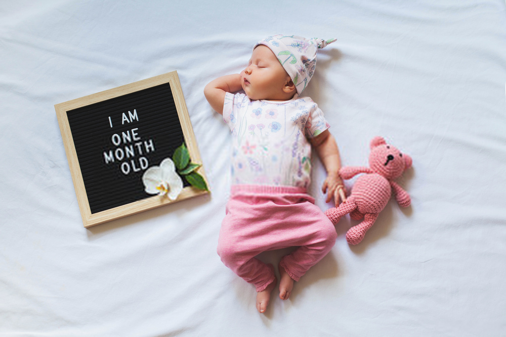 1 Month Old Baby Milestones